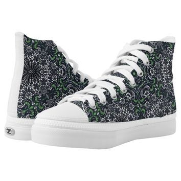 Lacy Kaleidoscope Printed Shoes