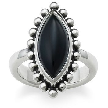 James Avery Beaded Marquise Onyx Ring | Dillard's