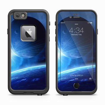 Blue Planetscape over Earth Skin for the Apple iPhone LifeProof Fre Case