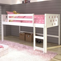 Aria Twin White Loft Bed