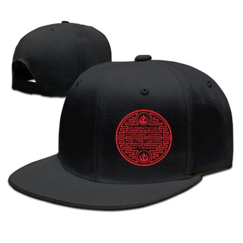 Everything Changed When The Fire Nation Attack Funny Unisex Adult Womens Flat Brim Hats Mens Hip-hop Caps