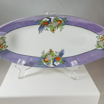 Noritake Oval Hand Painted Serving Dish   (968)