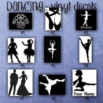 DANCE VINYL DECALS