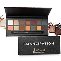 UCANBE Pro 14 Colors Eyeshadow Palette Matte & Shimmer Eye shadow Long Lasting Waterproof Makeup Collection (Vitality)