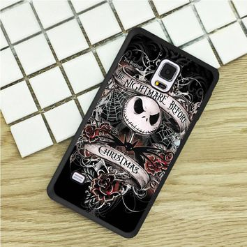 TPU Phone Cases For Samsung Galaxy S3 S4 S5 mini S6 S7 Edge S8 plus Note 2 3 4 5 Cover Nightmare Before Christmas Gothic Art