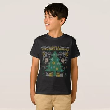 Have a Steampunk Christmas Ugly Sweater T-Shirt