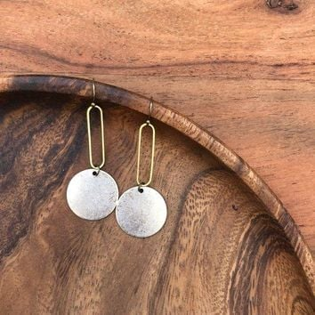 Fate & Coincidence - Silver + Gold Earrings