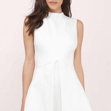 Chelsea Pleated A-Line Dress