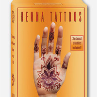 Earth Henna Premium All-Natural Body Painting Kit Gold One Size For Women 27424762101