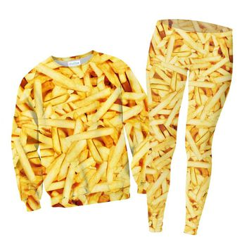 French Fries Combo Sweater and Leggings