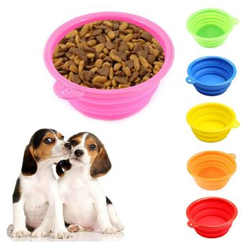 Dish Feeding Water Dog bowl