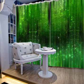 Space Star Galaxy 3D Blackout Curtains For Girls Kids Boys Bedding room Living room Drapes Cortinas para sala CL-DLM812