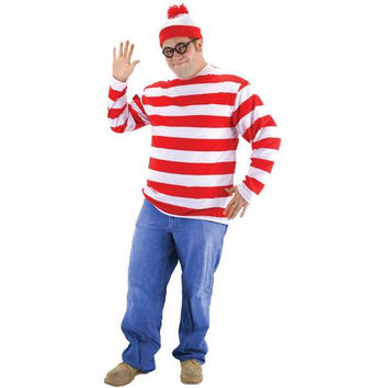 Men's Costume: Where's Waldo