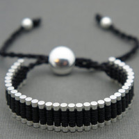 Link Friendship Bracelet - Black (One Direction)