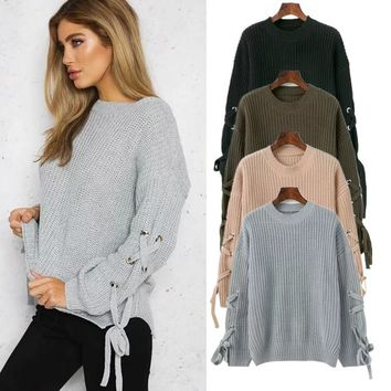 Ladies Knit Tops Bottoming Shirt [11966525203]