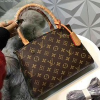LV Women Leather Handbag Tote Shoulder Bag
