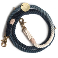 Black Ombre Adjustable Leash