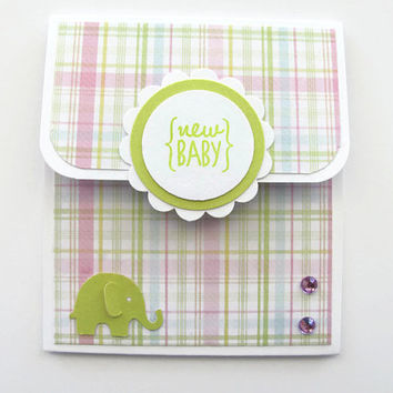 New Baby Gift Card Holder