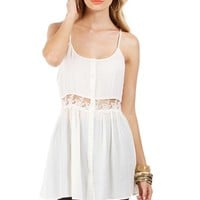 Ivory Sleeveless Tunic