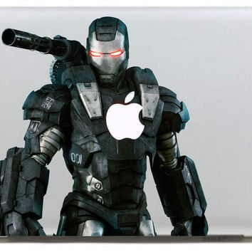 Heavily armed Iron Man Vinyl Decal Sticker for Apple Macbook Pro / Air 11 13 15 Inch Laptop Case Cover Sticker