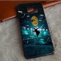 Rorschach Watchmen Buildings Shattered Samsung Galaxy S7 Edge Case