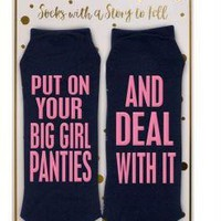 NEW Simply Southern Socks- DEAL WITH IT