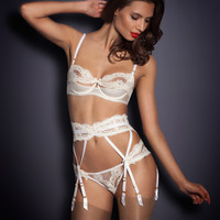 Suspenders by Agent Provocateur - Lacy Suspender