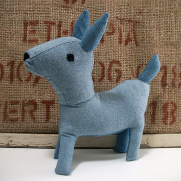 Plush Deer Recycled Blue- Melanie