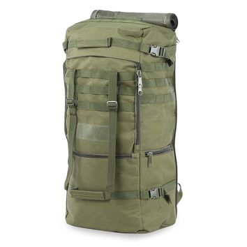 Outdoor 60L Military Bag Durable Unisex Tactical Backpack Bag Oxford Single Shouder Bag for Camping Hiking Climbing