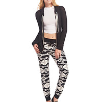 Southwestern Print Super Soft Joggers | Wet Seal