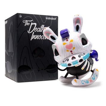 Kidrobot The Death of Innocence 8-inch Dunny Dia De Los Muertos edition by Igor Ventura