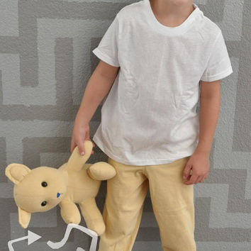Kid's t-shirt pants size 4T upcycl3 recycle clothing