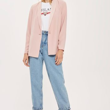TALL Ruched Sleeve Blazer | Topshop