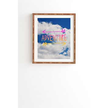 Leah Flores Adventure Sky Framed Wall Art