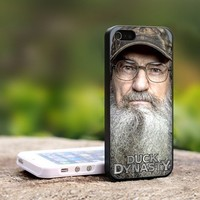Si Robertson Duck Dynasty -For iPhone 5 Black Case Cover