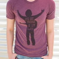 """Gina """"I've Got Friends In Low Places"""" Maroon Crew Tee"""