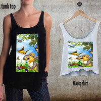 Thumper Rabbit Disney For Woman Tank Top , Man Tank Top / Crop Shirt, Sexy Shirt,Cropped Shirt,Crop Tshirt Women,Crop Shirt Women S, M, L, XL, 2XL**