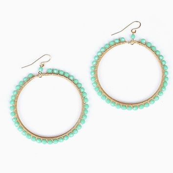 Jaded Cleo Hoops