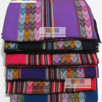 10 Cusco Blanket Manta Inca Peruvian textiles to make your bags, purses with this Inca cloth 110 cm x 125 cm