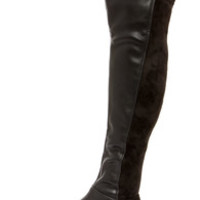My Better Calf Black Over the Knee Boots
