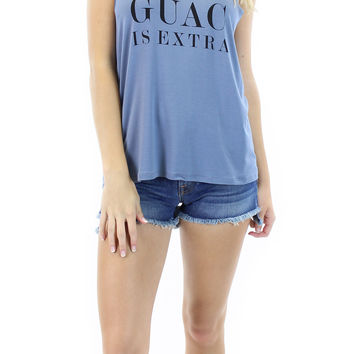 BCBGeneration | guac is extra graphic tank