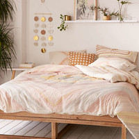 Hodad Watercolor Duvet Cover - Urban Outfitters