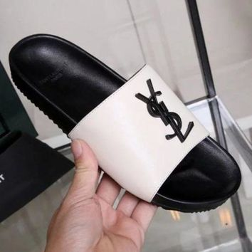 YSL Yves Saint laurent Slippers