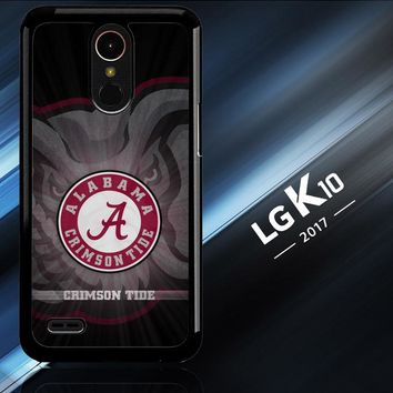 Alabama Crimson Tide G0099 LG K10 2017 | LG K20 Plus | LG Harmony  Case