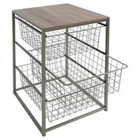3 Drawer Closet Organizer - Grey Birch - Threshold