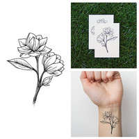 Buddy - Temporary Tattoo (Set of 2)