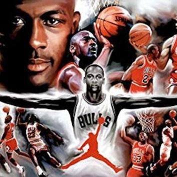 MICHAEL JORDAN POSTER Amazing Collage RARE HOT NEW 24x36