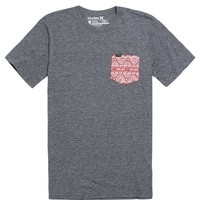 Hurley Indian Summer Pocket T-Shirt - Mens Tee - Grey