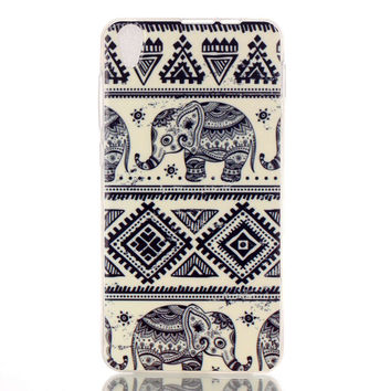 Ethnic Minority Elephant creative case for iPhone & Galaxy