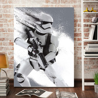 Modern wall art Stormtrooper Star Wars movie poster home decor wall art picture print oil Painting on canvas print